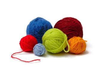 Шерстяная пряжа для вязания (100% шерсть)
