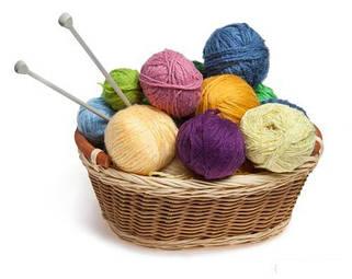 Полушерстяная пряжа для вязания