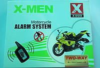 Мото сигнализация двусторонняя X-MEN X999