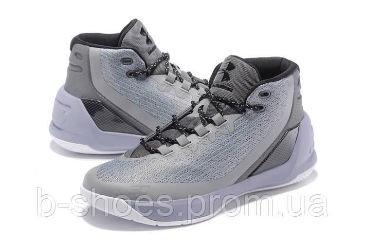 Мужские кроссовки UNDER ARMOUR CURRY 3 (Grey)