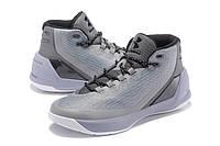 Мужские кроссовки UNDER ARMOUR CURRY 3 (Grey), фото 1