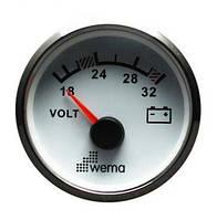 CPVR-WS-8-16 вольтметр (белый)