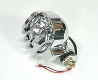 Прожектор-ксенон с защитной крышкой, корпус хромированный, диаметр 152мм, 3600lm, 12В, точечный
