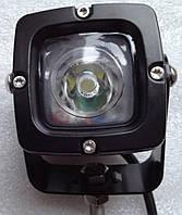 Прожектор LED 610 черный точечный 900lm 10W
