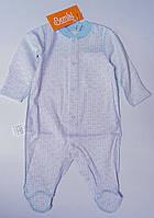 Комбинезон для новорожденного мальчика Белый 62 см 3 м. 03004001132 КБ4в Бэмби Украина