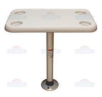 SF стол прямоугольный 40х70см комплект основание пластик
