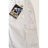 Bermuda стильные шорты для мальчика из хлопка  ЛЕТО, фото 3