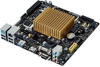 Материнская плата Asus MiniITX Celeron J1900 (quad-core) J1900I-C