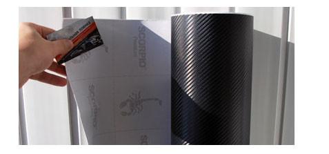 Карбоновая пленка черная Scorpio Premium