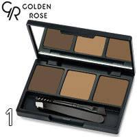 Golden Rose - Набор для коррекции бровей Eyebrow Styling Kit Тон 01 blonde, теплый беж