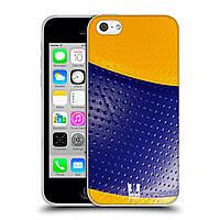Силиконовый чехол для iPhone 5C узор Мяч для пляжного волейбола
