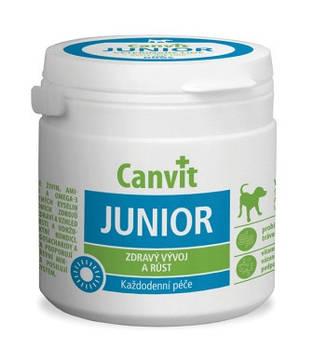 Витаминно-минеральная добавка Canvit JUNIOR для щенков и молодых собак, 100 гр