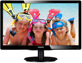 LED-монитор Philips 226V4LАB/01 Black