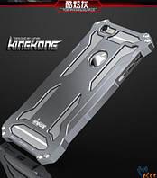 """Алюминиевый защитный бампер Luphie King-Kong Series для Apple iPhone 6/6s plus (5.5"""") Серый"""