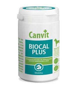 Витаминно-минеральная добавка Canvit BIOCAL PLUS для собак для роста и укрепления костей, 230 гр
