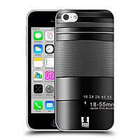 Силиконовый чехол для iPhone 5C узор Фотокамера нео