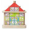 Детский деревянный конструктор — Сказочный город LKM-3. TM Cubika (12350)