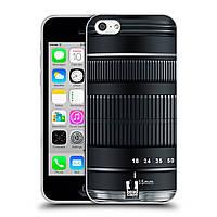 Силиконовый чехол для iPhone 5C узор Фотокамера