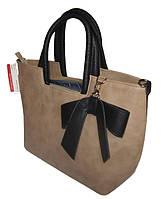 Женская сумочка среднего размера из экокожи