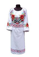 """Жіноче вишите плаття """"Нейва"""" (Женское вышитое платье """"Нейва"""") PК-0012"""