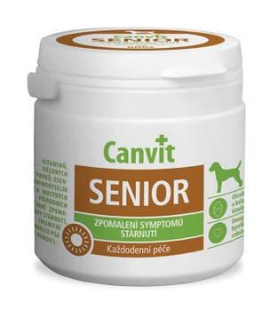 Витаминно-минеральная добавка Canvit SENIOR для стареющих собак, 100 гр
