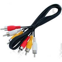 Аудио-кабель 3RCA 1.5м*2210