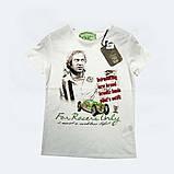 Стильная футболка для мальчика с принтом цвет серый размер 28, фото 2