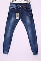 Мужские джинсы с манжетами на резинке Natsui (код 0633)