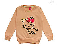 Теплая кофта Китти для девочки. 1-2;  5-6;  7-8  лет, фото 1
