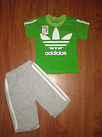 Футболка и шорты  Аддик мальчик