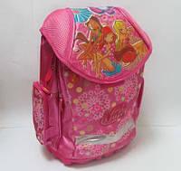 """Рюкзак школьный """"Winx-3"""", металлический каркас, пластиковый поддон, арт. 520245"""