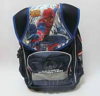 """Рюкзак школьный """"Spider Man"""", металлический каркас, пластиковый поддон, арт. 520246"""