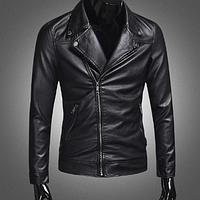 Мужская кожаная куртка. Модель 2002