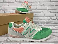 Женские кроссовки  New Balance 996 Зеленые
