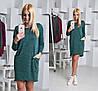 Платье трикотажное-туника с карманами, фото 6