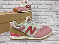 Женские кроссовки  New Balance 996 Розовые