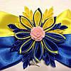 Магнит Патриотический  №2 желто-голубой