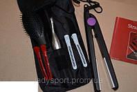 Домашний набор инструментов для укладки волос Straight&Silky с утюжком, фото 1