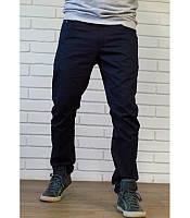 Мужские брюки чинос цвета нави
