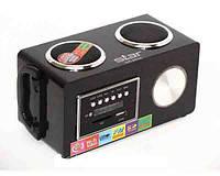 Радиоприемник УКВ, портативная стерео акустика Star SR-8934, USB, SD, съемный аккумулятор 1000 mAh