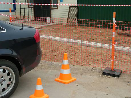 Аварийное ограждение А-95 (1м*20м, яч.45*90мм), фото 2