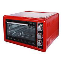 Электрическая духовка (печь) Saturn ST-EC1075 Red (красная)