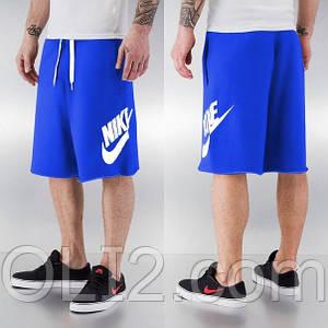 Мужские Шорты Nike Alumni Fleece Short синее