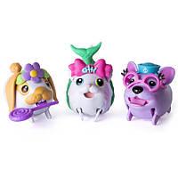 Игровой набор Упитанные собачки 3 щенка Chubby Puppies, фото 1