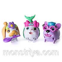 Игровой набор Упитанные собачки 3 щенка Chubby Puppies
