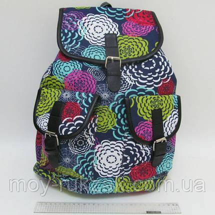 """Молодежный рюкзак Josef Otten """"Цветочные узоры, бабочки"""" , фото 2"""