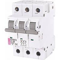 Автомат защиты ETI ETIMAT 6 C32 3p