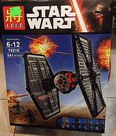 Конструктор Lele серия Star Wart 79210 Истребитель особых войск Первого Ордена (аналог Lego Star Wars 75101)