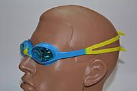 Очки детские для плавания силикон