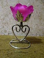 Сувенирный подсвечник Роза, фото 1